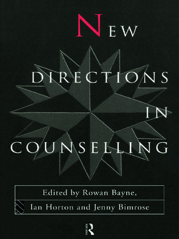 New Directions in Counselling book cover