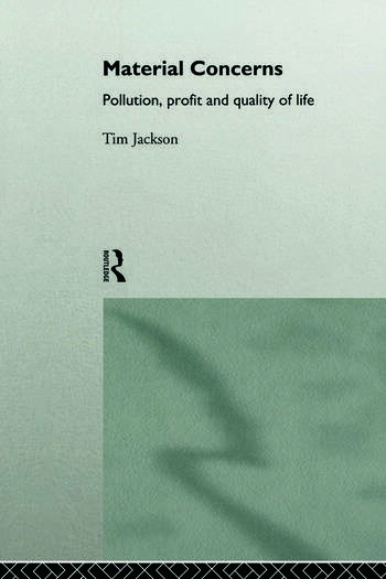 Material Concerns Pollution, Profit and Quality of Life book cover