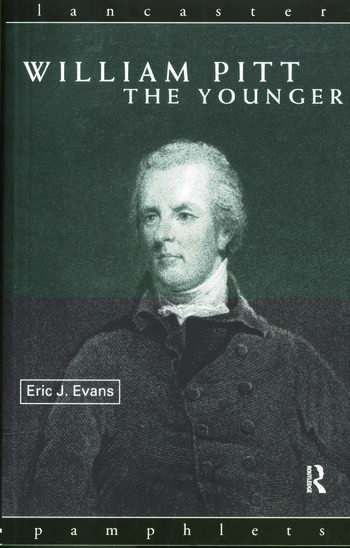 William Pitt the Younger book cover