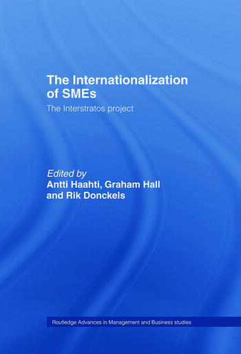 The Internationalization of Small to Medium Enterprises The Interstratos Project book cover