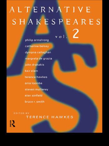 Alternative Shakespeares Volume 2 book cover