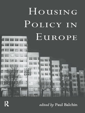Housing Policy in Europe book cover