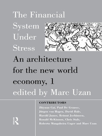 The Financial System Under Stress An Architecture for the New World Economy book cover