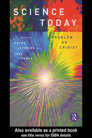 Science Today: Problem or Crisis? book cover