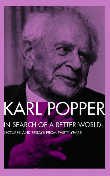 In Search of a Better World Lectures and Essays from Thirty Years book cover