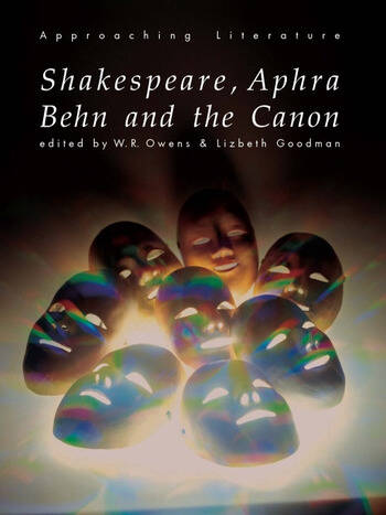 Shakespeare, Aphra Behn and the Canon book cover