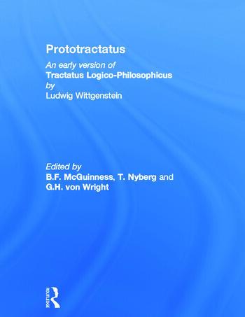Prototractatus book cover