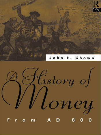 A History of Money From AD 800 book cover