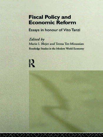 Fiscal Policy and Economic Reforms Essays in Honour of Vito Tanzi book cover