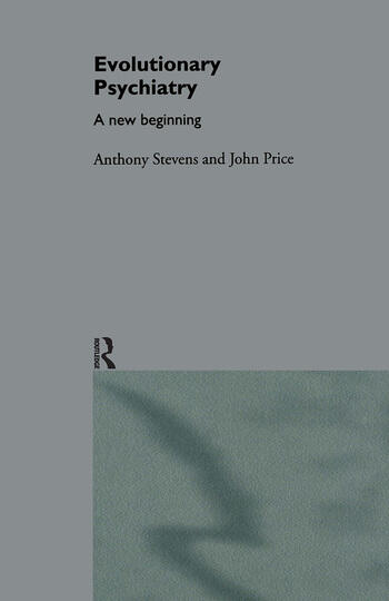 Evolutionary Psychiatry A New Beginning book cover