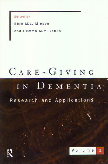 Care-Giving In Dementia 2 book cover