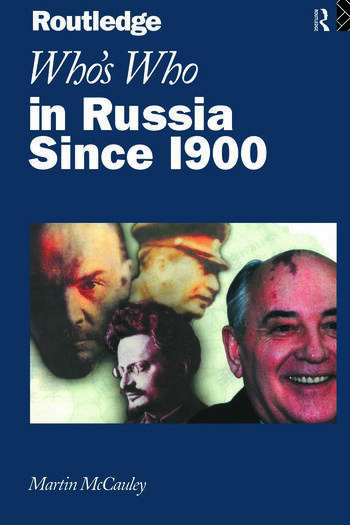 Who's Who in Russia since 1900 book cover
