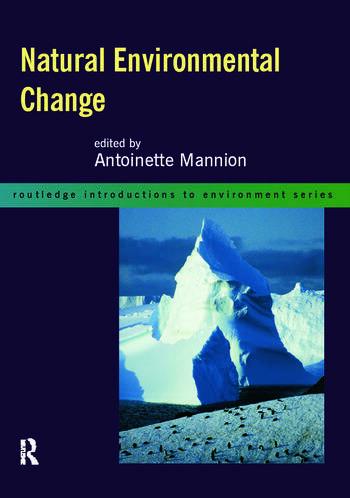 Natural Environmental Change book cover