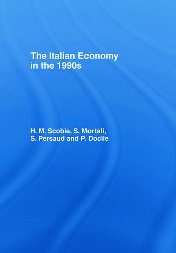 The Italian Economy in the 1990s book cover
