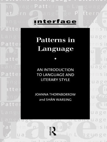 Patterns in Language Stylistics for Students of Language and Literature book cover