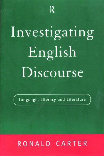 Investigating English Discourse Language, Literacy, Literature book cover
