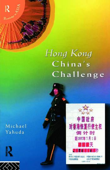 Hong Kong China's Challenge book cover