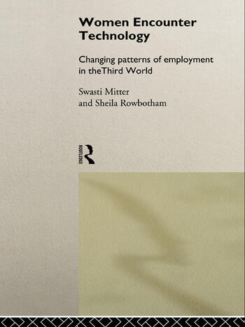 Women Encounter Technology Changing Patterns of Employment in the Third World book cover