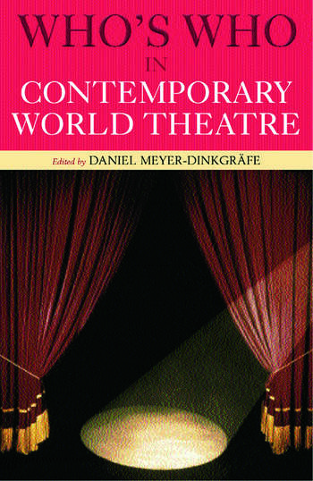 Who's Who in Contemporary World Theatre book cover