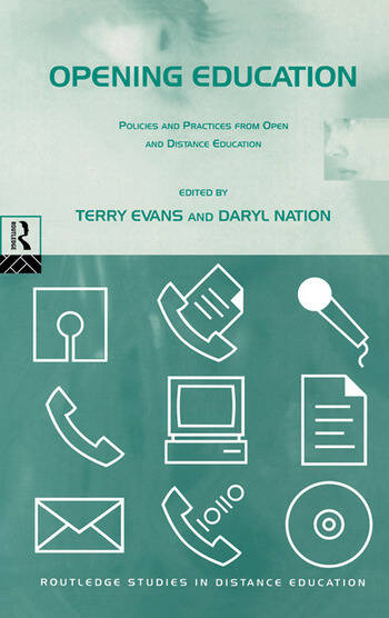 Opening Education Policies and Practices from Open and Distance Education book cover