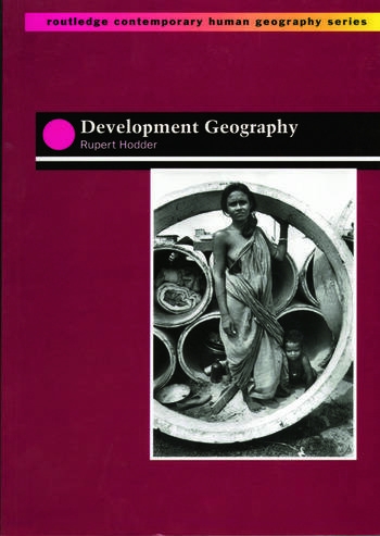 Development Geography book cover