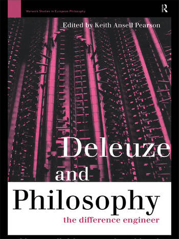 Deleuze and Philosophy The Difference Engineer book cover