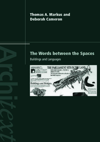 The Words Between the Spaces Buildings and Language book cover
