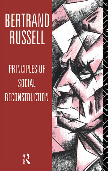 Principles of Social Reconstruction book cover