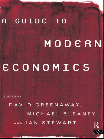 A Guide to Modern Economics book cover