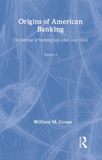 Origins of American Banking book cover