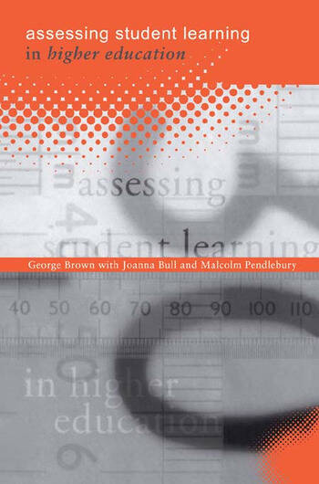 Assessing Student Learning in Higher Education book cover