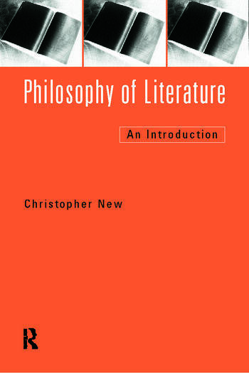 Philosophy of Literature An Introduction book cover