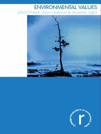 Environmental Values book cover