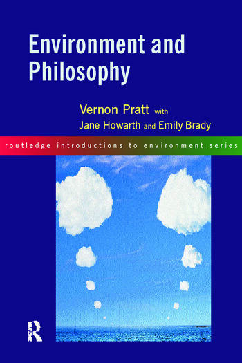 Environment and Philosophy book cover