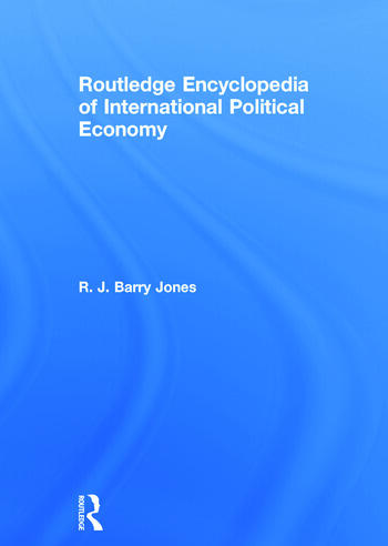 Routledge Encyclopedia of International Political Economy book cover