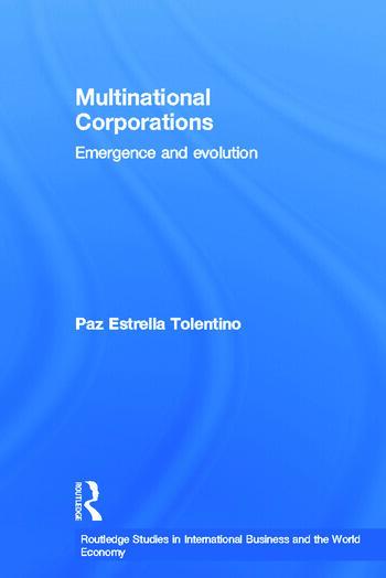 Multinational Corporations Emergence and Evolution book cover