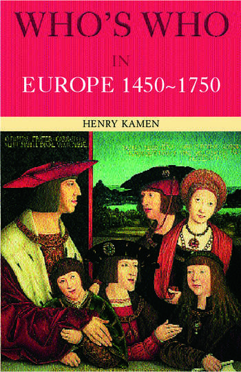 Who's Who in Europe 1450-1750 book cover
