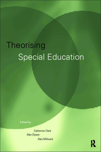 Theorising Special Education book cover