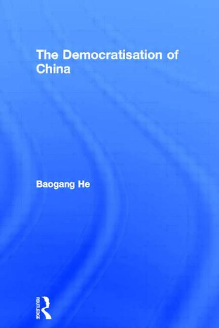 The Democratisation of China book cover