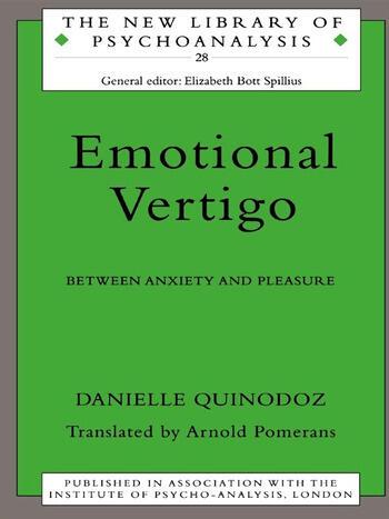 Emotional Vertigo Between Anxiety and Pleasure book cover