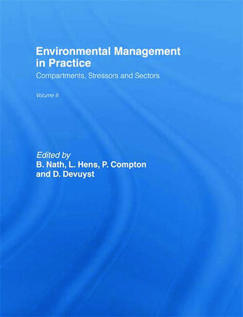 Environmental Management in Practice: Vol 2 Compartments, Stressors and Sectors book cover