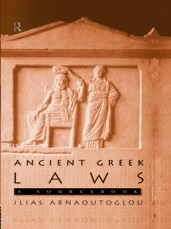Ancient Greek Laws A Sourcebook book cover