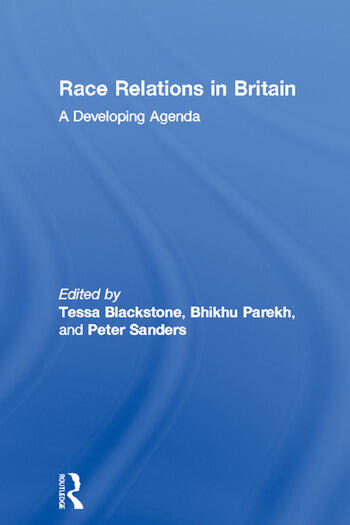 Race Relations in Britain A Developing Agenda book cover