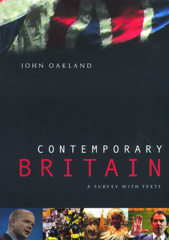 Contemporary Britain A Survey With Texts book cover