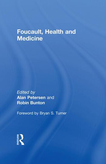 Foucault, Health and Medicine book cover