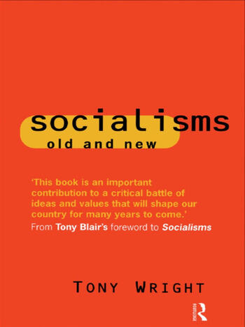 Socialisms: Old and New book cover