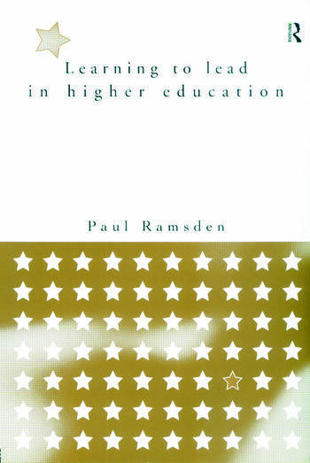 Learning to Lead in Higher Education book cover