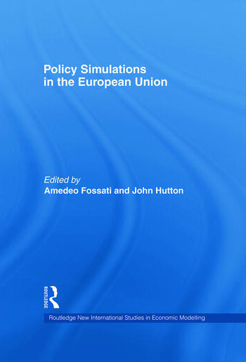 Policy Simulations in the European Union book cover