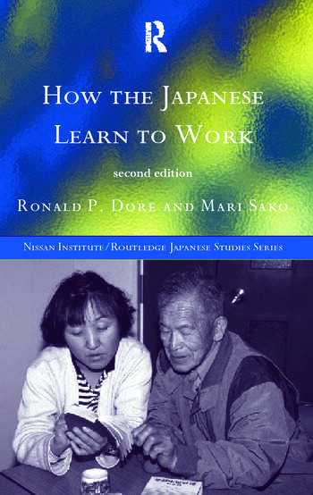 How the Japanese Learn to Work book cover