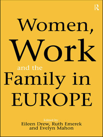 Women, Work and the Family in Europe book cover